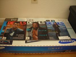 DETAILS Magazine 2014-15 10 Issues UNREAD BradP... - $1.00