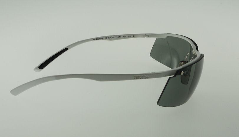 ZERORH+ ANGELFISH White / Green Sunglasses RH774-01 CARL ZEISS