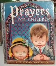 Vintage Little Golden Book Prayers for Children  - $12.00