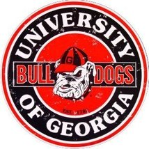 University of Georgia Bulldogs Collegiate Embos... - $9.99