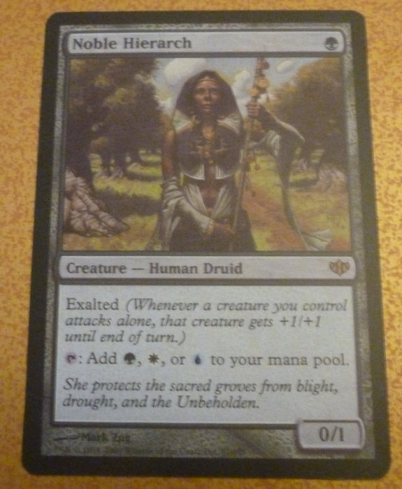 Magic the Gathering Nobile Hierarch - Highest Quality Proxy