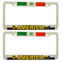 """""""Amercia"""" Mexico Soccer Plastic License Plate F... - $11.87"""