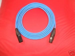 Primary image for CANARE L-4E6S QUAD MICROPHONE MIC CABLE NEUTRCK XLR BLUE, 15 FT.