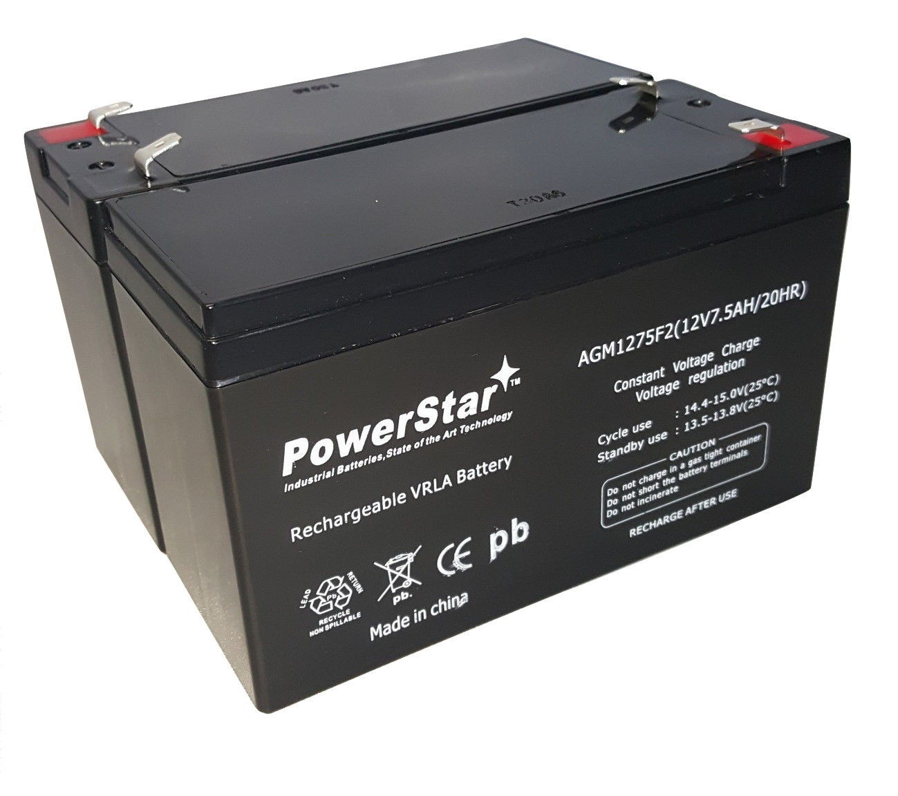 Primary image for 12V 7.5AH SLA Battery for APC RBC5 RBC9 RBC22 RBC32 RBC33