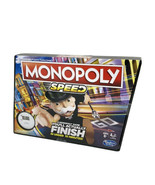 Monopoly Speed Board Game For Kids - Fast 10 Minute Games - $15.99