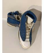 Nike Air Jordan XIII 13 Retro Flint Grey French Blue White 2010 Sz 14 41... - $147.73