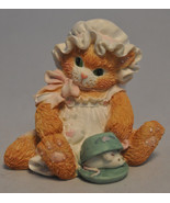 Calico Kittens: A Purr-fect Pair - 112445 - Mouse Tea Cup - $16.82