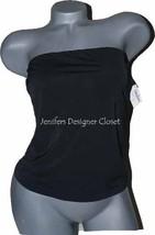 NWT DKNY black strapless camisole lingerie Petite XS S black Donna Karan top - $58.19