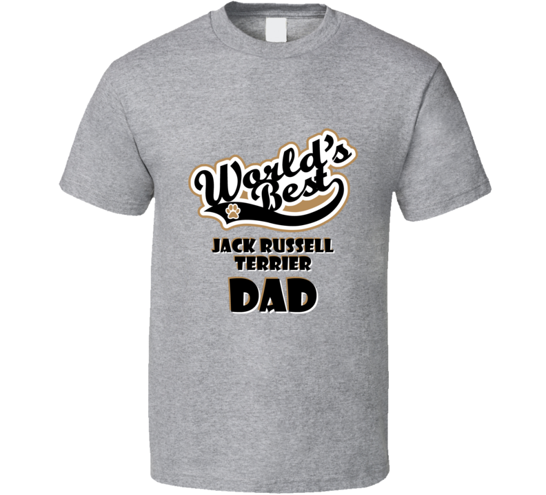 Worlds Best Jack Russell Terrier Dad Father's Day Dog Owner Lover Pet Dogs Gift