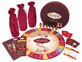 Zinzig Wine Tasting Trivia Board Game Vino Aficionado Adults Educational... - $13.08