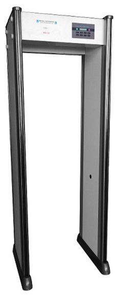 Primary image for Walk-Thru Metal Detector, Full Warranty, 33 Zone, Security for Schools,Office