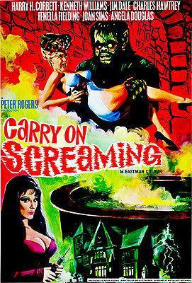 Primary image for Carry On Screaming - 1966 - Movie Poster