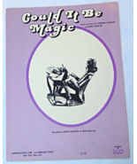 "1973 Vintage Sheet Music ""Could It Be Magic"" Recorded by Barry Manilow  ... - $7.99"