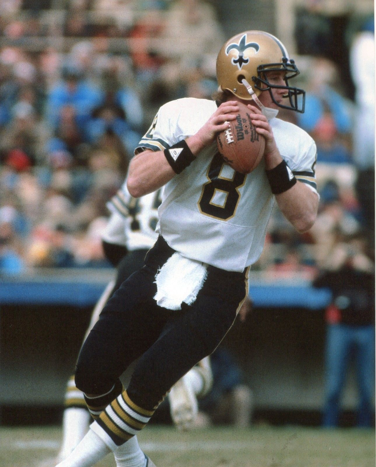 Primary image for Archie Manning New Orleans Saints SA Vintage 8X10 Color Football Memorabilia Pho