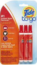 Tide To Go Instant Stain Remover Pen, 3 ea (Pack of 9) - $100.93