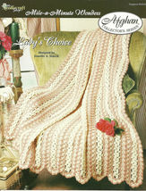 Needlecraft Shop Crochet Pattern 952230 Ladys Choice Afghan Collectors S... - $4.99