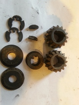 Set Of Toro 105-3040 Gears, Key Pins, Washers Etc. - $13.79