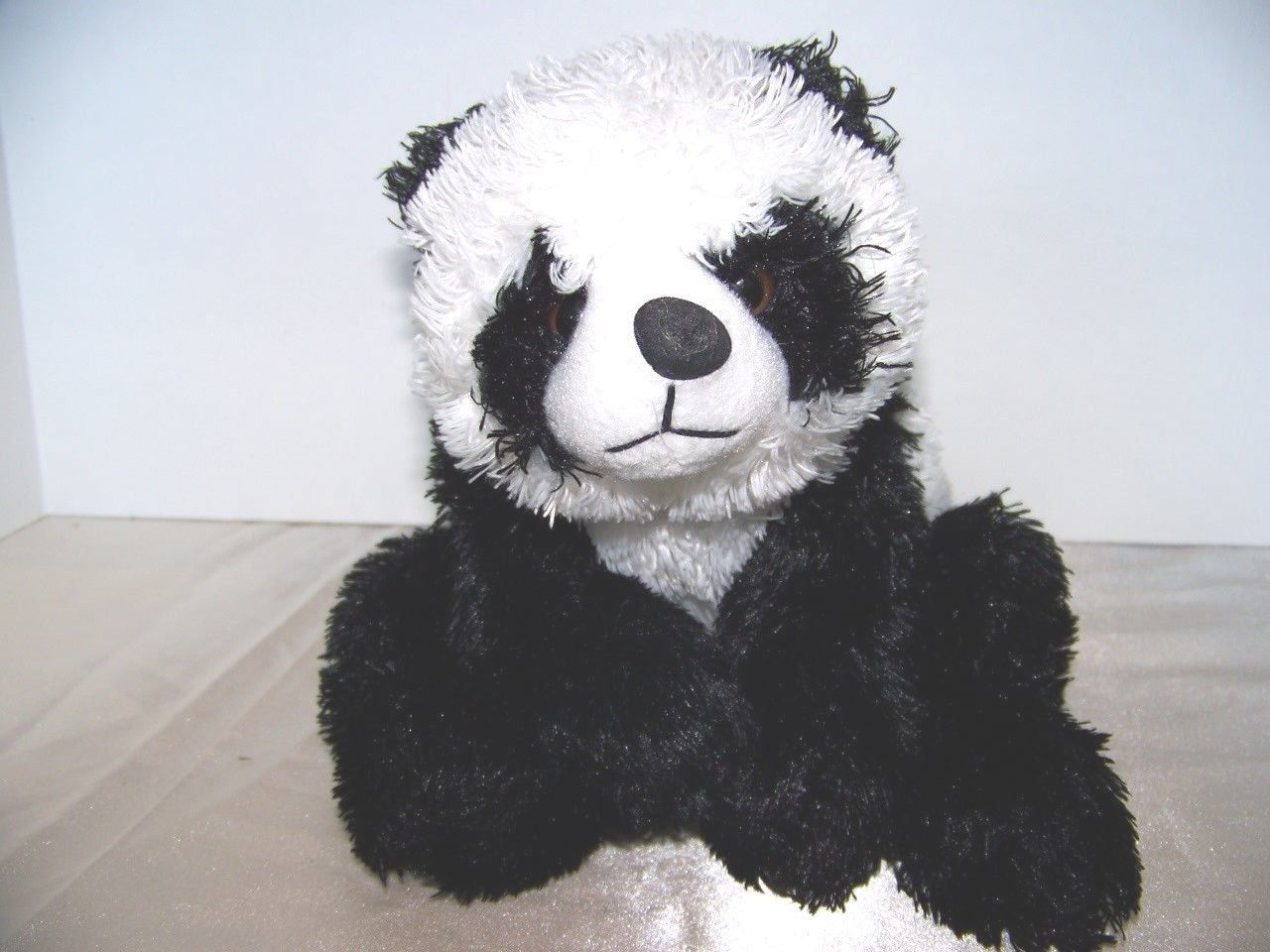 "Primary image for PANDA BEAR 13"" PLUSH STUFFED ANIMAL LOVEY TOY by unipack"