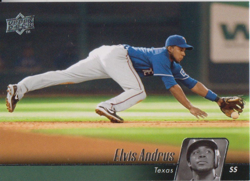 Primary image for Elvis Andrus 2010 Upper Deck Series 1 Card #498