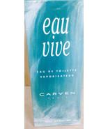 CARVEN  Eau Vive EDT Spray 4.2 oz/125ml.  NIB ***RARE,COLLECTIBLE**** - $33.25