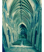"""THE ABBEY by John Hine handmade in the UK incredible detail :W7.25"""" xH9.... - $270.75"""