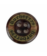 "Vintage BURBERRY Coat Replacement Plastic Button Brown Blend .70"" - $15.47"