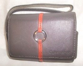 "Genuine Sony Cyber-shot Gray Leather Case For Sony CyberShot Camera 3 3/4"" - $19.99"