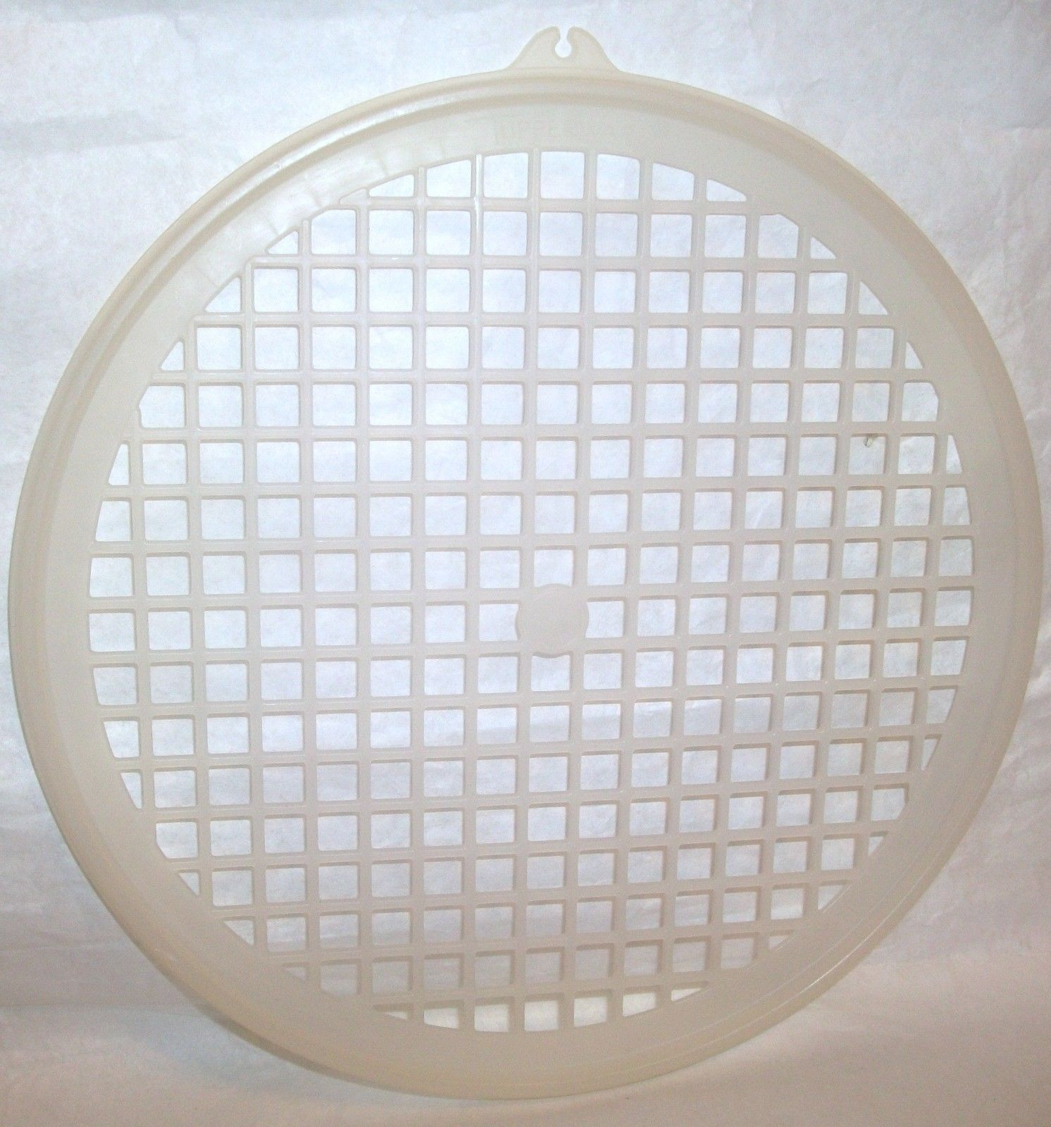 "Primary image for 9"" TUPPERWARE  Round Colander Flo Thru Strainer Replacement Lid #516"