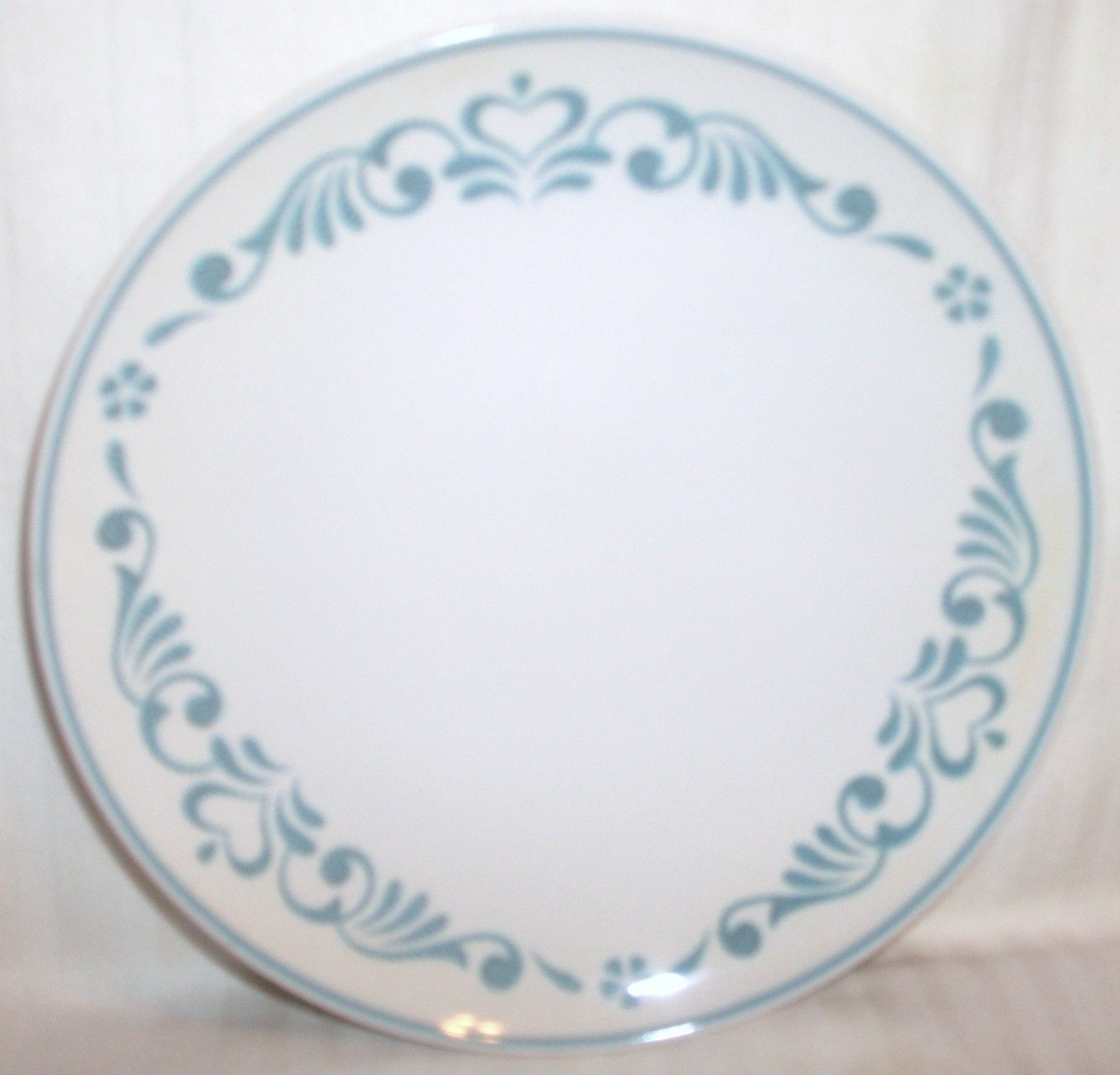Lot 2 Franciscan BLUE FANCY Bread Plates