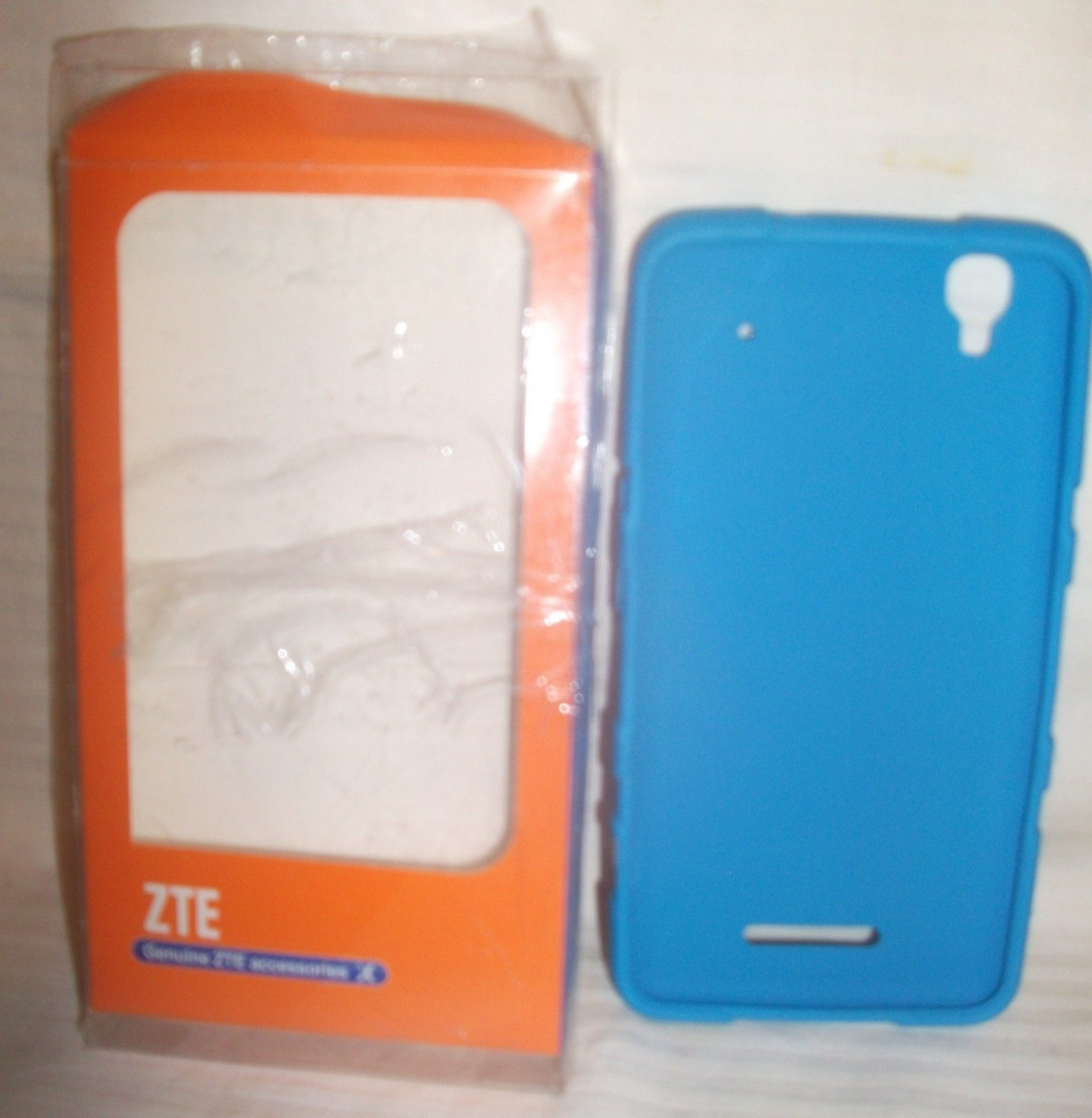 Primary image for Genuine ZTE Boost Max Max+ N9520 N9521 Phone Cover Case Blue