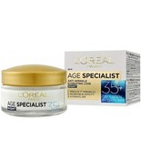L'OREAL AGE SPECIALIST 35+ Anti-Wrinkle Hydrating Moisturizing Night Cre... - $14.94