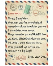 Letter Vintage Poster Unframe Wall art Printing Decor Gift For Daughter ... - $19.75+