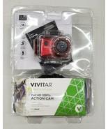 Vivitar Full HD 1080p Action Cam DVR786HD For Parts or Repair  - $10.00