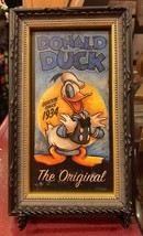DISNEY PARKS EXCLUSIVE THE ORIGINAL DONALD DUCK MINI GICLEE FRAME NEW - $37.99