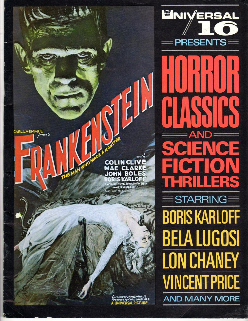 Universal 16 Presents :Horror Classics & Science Fiction Thrillers