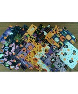 "Halloween Themed Finishing Fabric 5"" x 5"" - 17 ... - $7.00"