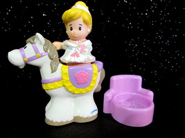 Fisher Price Little People Palace Castle Home Cinderella NEW Princess EU... - $12.95