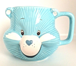 Care Bear Blue Bedtime Bear Figural Mug Cup1984 American Greetings  - $19.95