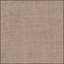FABRIC CUT 32ct creek bed brown 9x9 Home Sweet Home cross stitch chart  - $7.00