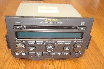 Primary image for 2005 ACURA MDX OEM 6disc CD changer 1AF0 AM/FM Radio Player #39100-S3V-A630