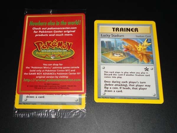 Lucky Stadium 41 NYC Black Star Pokemon Promo Card (Factory Sealed) MINT