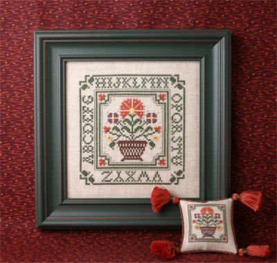 Primary image for Country Flowers Sampler Teenie Kit cross stitch kit Sweetheart Tree
