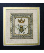 Queen Bee cross stitch chart w/embellishments The Bee Cottage  - $9.90