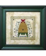 Alphabet Bee Skep cross stitch kit The Bee Cottage  - $24.30