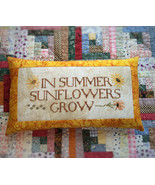 Sunflowers Grow cross stitch chart Death by Thread  - $10.80