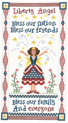 Primary image for Liberty Angel cross stitch chart Imaginating