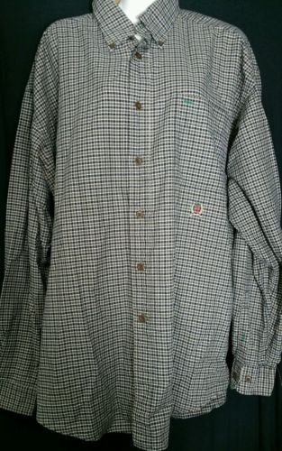 Primary image for Tommy Hilfiger Men's Shirt Extra Large XL Button Down Plaid Checks Cotton