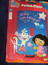 "Dora the Explorer Nick Jr ""Stars/Estrellas"" Light Switch Switch Plate - $2.99"