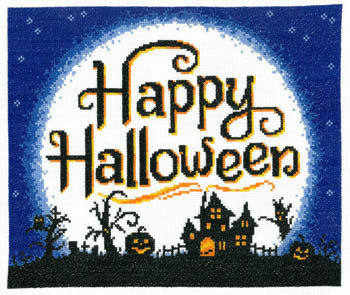 Primary image for l Moon Halloween cross stitch chart Imaginating