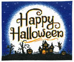 l Moon Halloween cross stitch chart Imaginating - $6.30